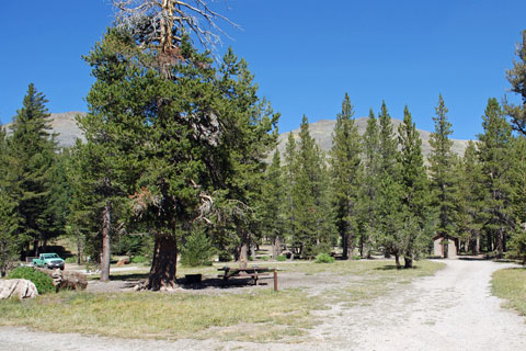 Highland Lakes Campground near Ebbetts Pass, CA