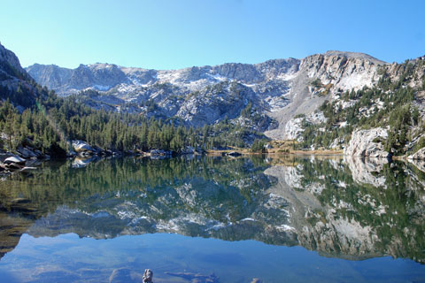 Crystal Lake,  Mammoth Lakes, CA