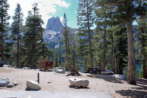 Lake George campground, Mammoth Lakes