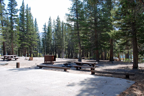Lake Mary Campground, Mammoth Lakes, CA