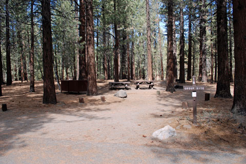 Pine Glen Group Campground, Mammoth Lakes, CA