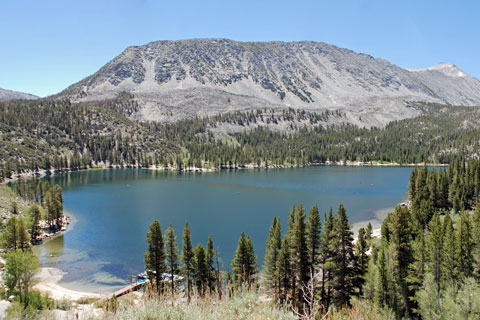 Rock Creek Lake,  Inyo National Forest, CA