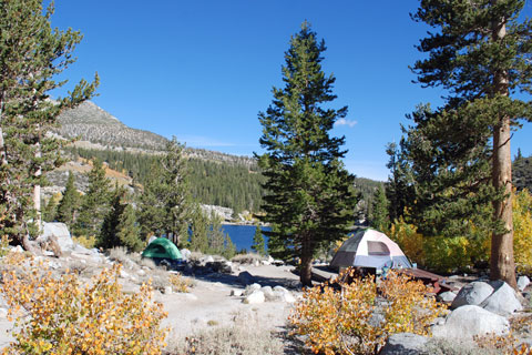 Rock Creek Lake Campground,  Inyo National Forest, CA