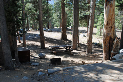 Twin Lakes Campground, Mammoth Lakes, CA