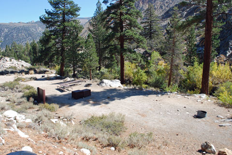 Bishop Park Group Camp,  Inyo National Forest, CA