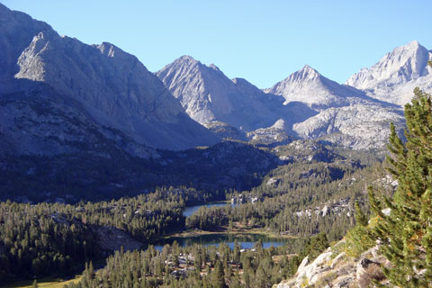 Little Lakes Valley  Inyo National Forest, CA