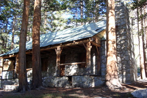 Lon Chaney cabin near Big Pine Lakes, Inyo National Forest, CA