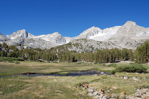 upper Rock Creek,  Inyo National Forest, CA