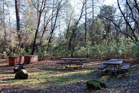 Antlers Campground at Shasta Lake.