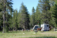 Wright's Lake Equestrian camp,  CA