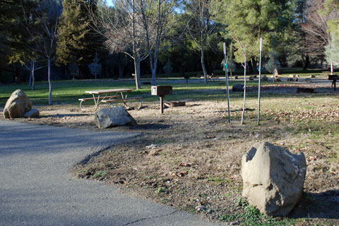 Cache Creek Regional Park Campground, Yolo County, CA