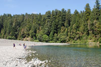 Smith River at Jedediah Smith Redwoods State Park, CA