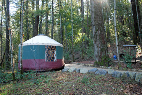 Yurt in Bothe-Napa Valley State Park, CA
