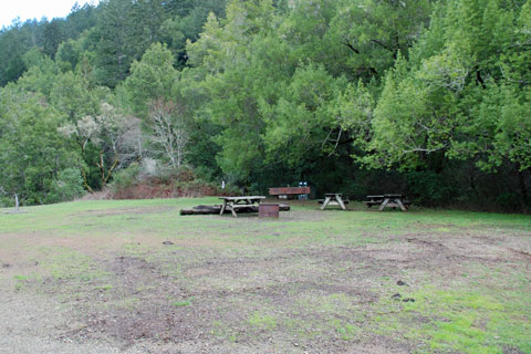 Equestrian Campground at Samuel P. Taylor State Park, CA