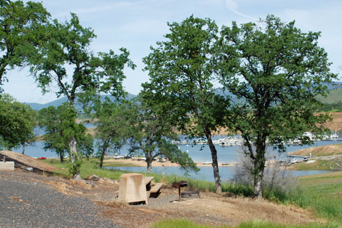 Fleming Meadows Campground, Don Pedro Lake, CA