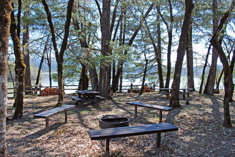 Fuller Grove Group Campground, Lake Pillsbury, CA