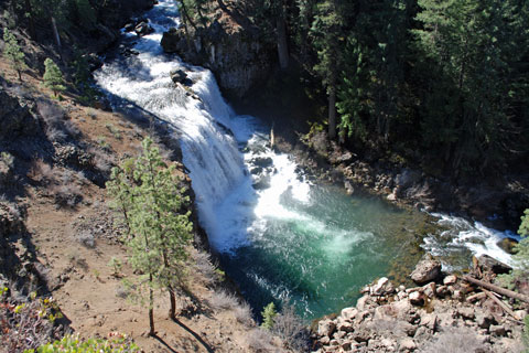 Middle Fowlers Falls, McCloud River, CA