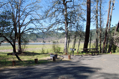 Navy Camp Campground, Lake Pillsbury, CA