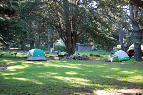 Plaskett Creek Campground, Big Sur, CA