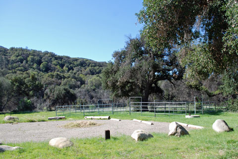 Sage Hill Group Equestrian Campground, Los Padres National Forest, CA