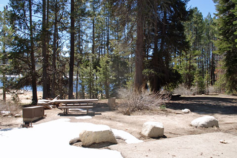 Catavee Campground, Huntington Lake, Sierra National Forest, CA
