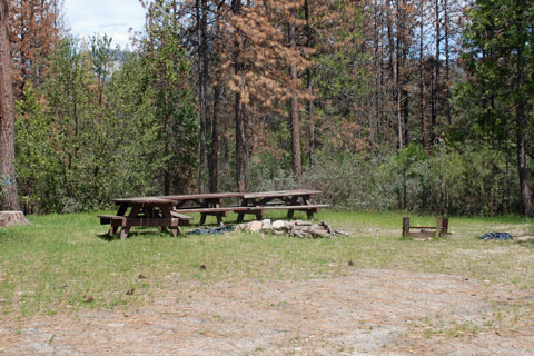 Crane Valley Group Campground, Bass Lake, Sierra National Forest, CA