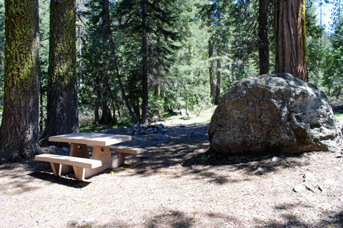 Castle Lake Campground, Shasdta-Trinity National Forest, CA