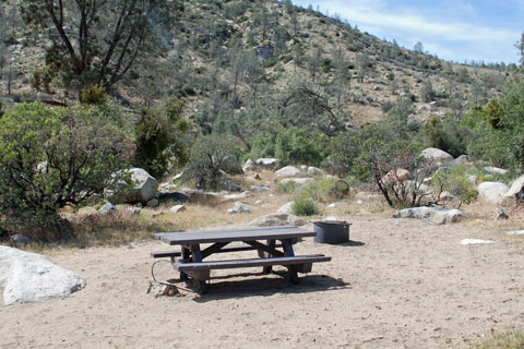 Goldledge Campground, Kern River, CA