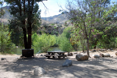 Headquarters Campground, Kern River, CA