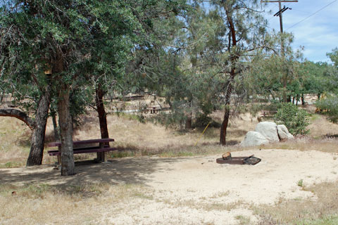 Paradise Cove Campground, Kern River, CA
