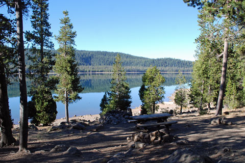 A. H. Hogue Campground at Medicine Lake