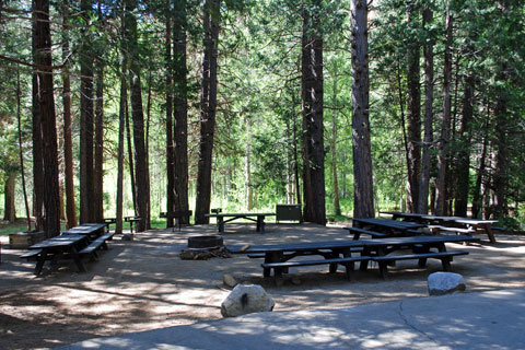 Aspen Hollow Group Campground, Hume Lake, CA