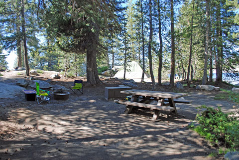 Marmot Rock Campground, Courtright Reservoir, CA