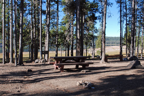 Medicine Campground at Medicine Lake