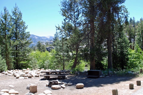 Mono Hot Springs Campground, Sierra National Forest, CA