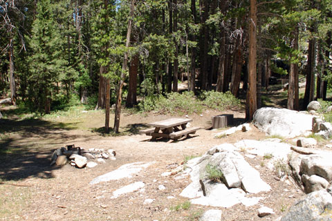 Ward Lake Campground, Sierra National Forest, CA