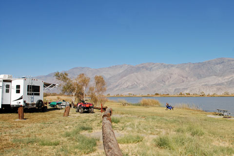 Diaz Lake Campground,  Lone Pine, Inyo County, CA