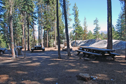Granite Gulch Group Camp, Utica Reservoir, Stanislaus National Forest, CA