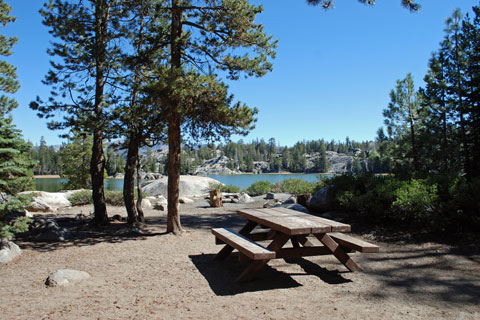 Rocky Point Campground, Utica Reservoir, Stanislaus National Forest, CA
