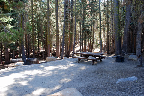 Sandy Flat Campground, Utica Reservoir, Stanislaus National Forest, CA