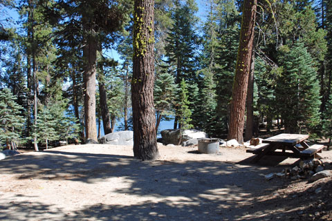 Union West Campground, Union Reservoir, Stanislaus National Forest, CA