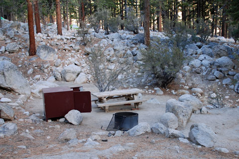 Whitney Portal Campground, Inyo National Forest, CA