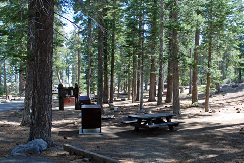 Bayview Campground, Lake Tahoe