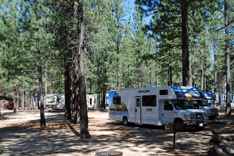 Campground in the city of South Lake Tahoe
