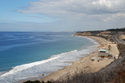 Moro Beach at Crystal Cove State Park, CA