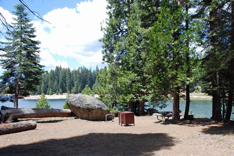 Lone Rock Campground, Union Valley Reservoir, CA