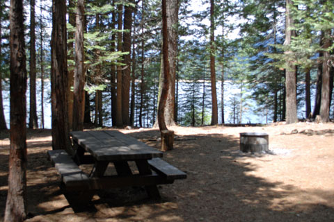 Sunset Campground, Union Valley Reservoir, CA