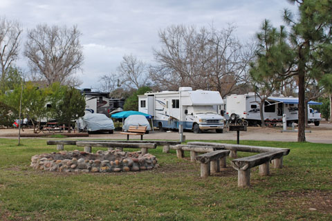 Santee Lakes Campground,  San Diego County, CA
