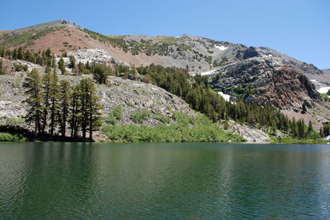 Arrowhead Lake,  Mammoth Lakes, CA