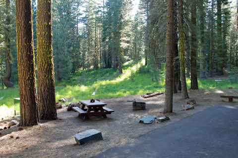 East Meadow Campground, Jackson Meadows Reservoir, Tahoe National Forest